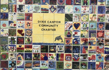 Last Session of Annual Giving Tile Painting