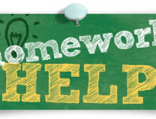 Homework Help Every Tuesday